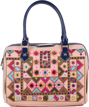 Nicole Lee Ianeke Mirrored Boston Bag (Women's)