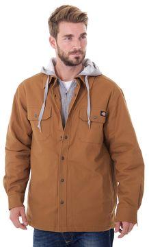 Dickies Men's Mock-Layer Hooded Jacket