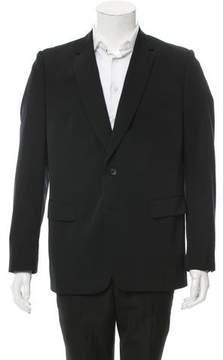 Dries Van Noten Two-Button Wool Blazer
