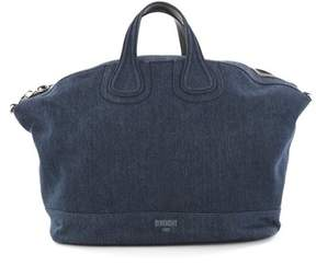 Givenchy Pre-owned: Nightingale Satchel Denim Xl.