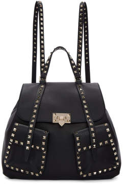 Valentino Black Garavani Rockstud Backpack