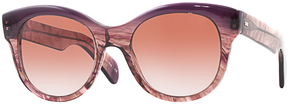 Oliver Peoples Women's Jacey Rounded Cat Eye Frame