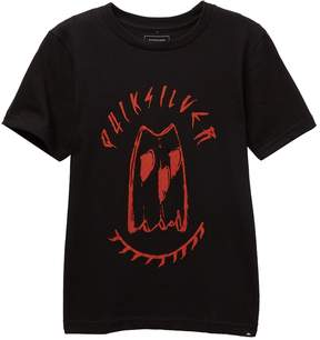 Quiksilver Wake Up Awesome Tee (Big Boys)