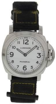 Panerai Luminor PAM00114 Stainless Steel Manual Winding 44mm Mens Watch