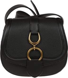 Ralph Lauren Barrington Metal Detail Shoulder Bag