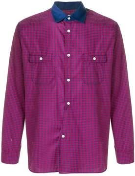 Junya Watanabe contrast collar shirt