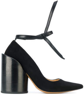 Jacquemus chunky heel pumps