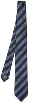 Dunhill Wide-striped silk tie