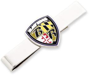 Ice Baltimore Ravens Shield Tie Bar