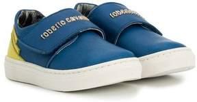 Roberto Cavalli touch strap sneakers