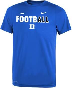 Nike Boys 8-20 Duke Blue Devils Legend FootbALL Tee