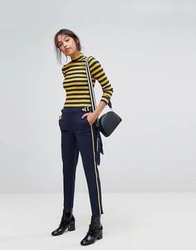 Esprit Military Side Stripe Peg PANTS