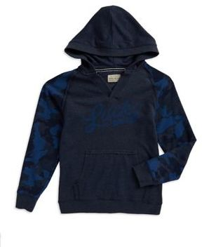 Lucky Brand Boy's Pullover Long Sleeve Hoodie