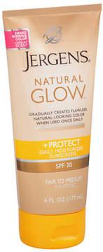 Jergens Natural Glow & Protect Daily Moisturizer SPF 20 Fair to Medium Fair to Medium