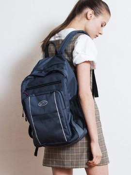DAY Birger et Mikkelsen Reflective Logo Backpack Charcoal
