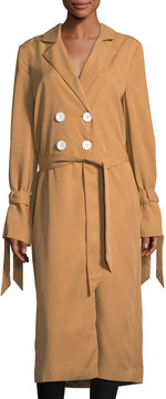 C/Meo Unstoppable Woven Trench Coat