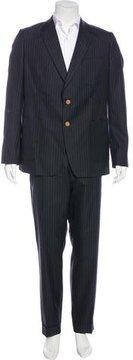 Dries Van Noten Wool Striped Suit