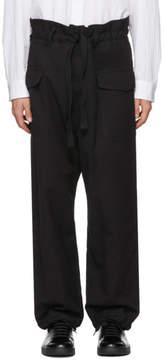 SASQUATCHfabrix. Black High-Rise Cargo Pants