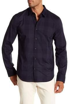 John Varvatos Plaid Slim Fit Shirt