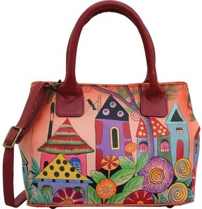 Anuschka Anna By ANNA by Hand Painted Small Convertible Tote 8330 (Women's)
