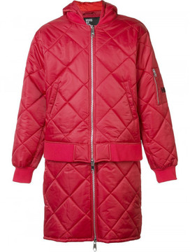 Hood by Air 'Against' quilted bomber jacket