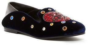 Ivy Kirzhner Musical Embellished Velvet Loafer