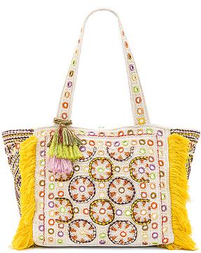 Antik Batik Kinocabas Tote Bag in Yellow.
