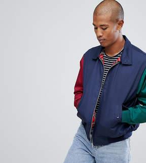 Reclaimed Vintage Inspired Cut and Sew Harrington Jacket