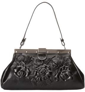 Patricia Nash Tooled Rose Ferrra Satchel Satchel Handbags
