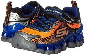 SKECHERS KIDS - Lighted Gore Strap 90293L Lights Boys Shoes