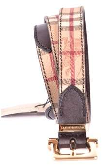 Burberry Men's Multicolor Leather Belt.