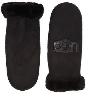UGG Heritage Logo Waterproof Sheepskin Mitten Extreme Cold Weather Gloves