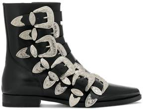 DSQUARED2 buckle embellished boots