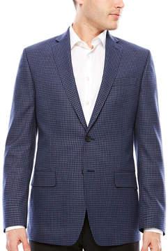 Claiborne Slim Fit Woven Checked Sport Coat