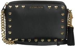 Michael Kors Ginny Crossbody With Studs - BLACK - STYLE