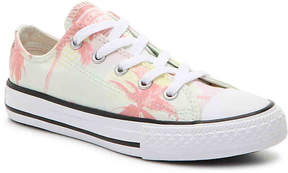 Converse Chuck Taylor All Star Palm Toddler & Youth Sneaker - Girl's