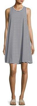 Seafolly Sleeveless Striped Swing Jersey Dress