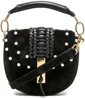Altuzarra Ghianda Tubular Top Handle Mini Bag with Pearls