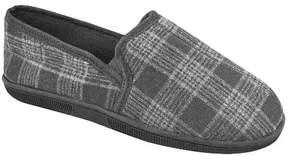 Muk Luks Men's Plaid Slip On Slippers