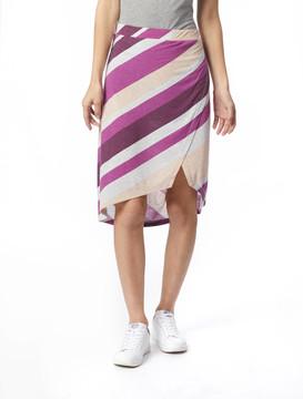 Alternative Apparel Melange Jersey Wrap Skirt