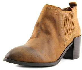 Fergie Magic Women Pointed Toe Leather Brown Ankle Boot.