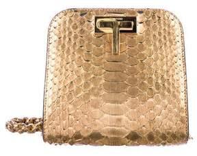 Tom Ford Python Small T Lock Bag