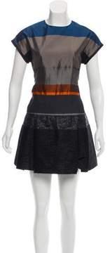 Victoria Beckham Victoria Short Sleeve Mini Dress