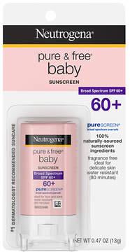 Neutrogena Pure Free Baby Sunscreen Stick SPF 60