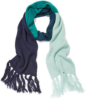 New York & Co. Striped Colorblock Scarf