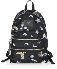 Marc Jacobs Tossed Charm Backpack - BLACK MULTI - STYLE