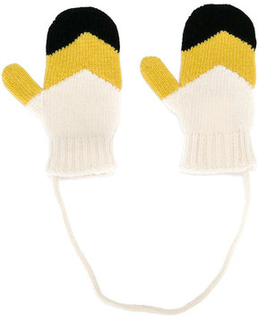 Marni Kids knitted mittens