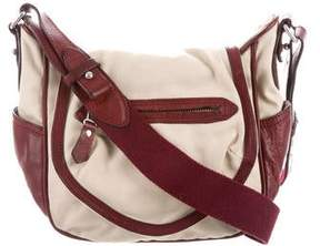 Isabel Marant Leather Trim Crossbody Bag