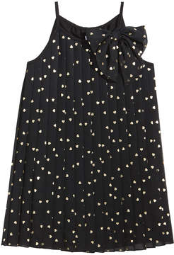 Epic Threads Heart-Print Chiffon Dress, Little Girls (4-6X), Created for Macy's