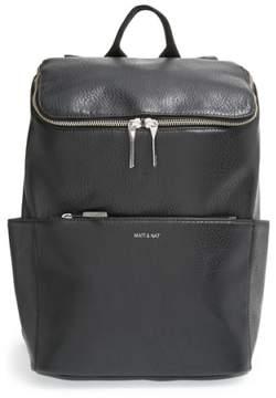 Matt & Nat 'Brave' Faux Leather Backpack - Black